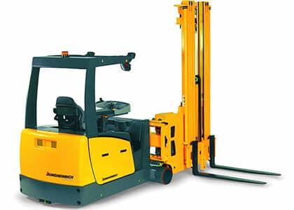 Narrow Aisle Man Down Forklift Training Worthing