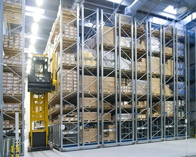 Narrow Aisles Man Up Forklift Truck Training Worthing
