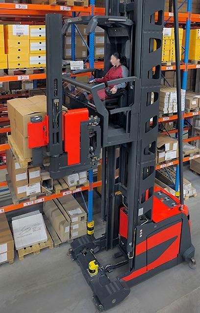 VNA Man Up Forklift Training