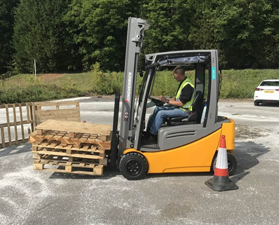 Onsite Forklift Training Portsmouth