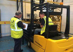 Counterbalance Forklift Training Brighton