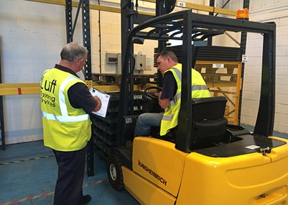 Counterbalance Forklift Training Brighton