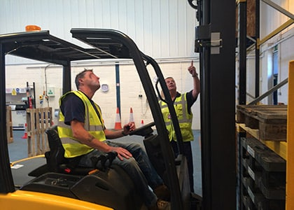 Counterbalance Forklift Training Courses