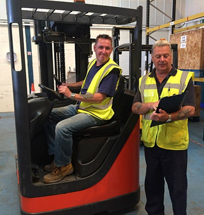 Reach Truck Training Brighton
