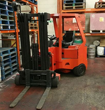 pivot steer forklift training