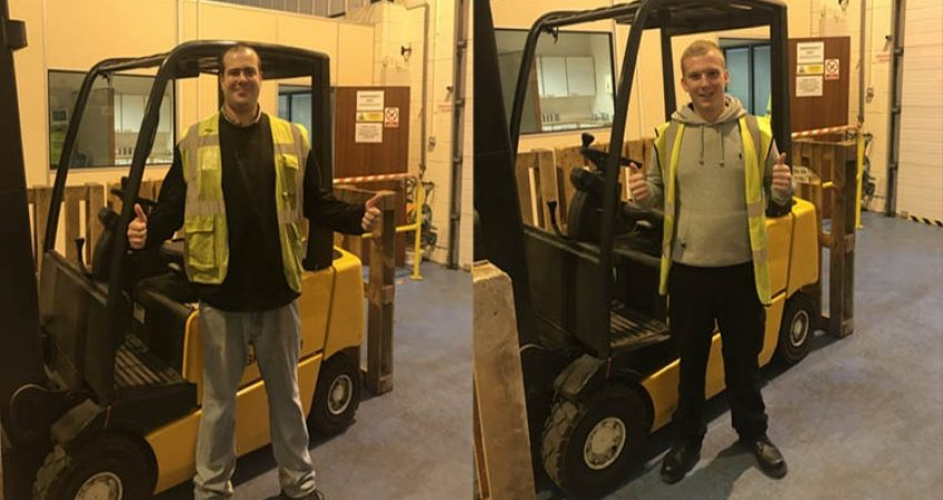 Counterbalance Forklift Training Course